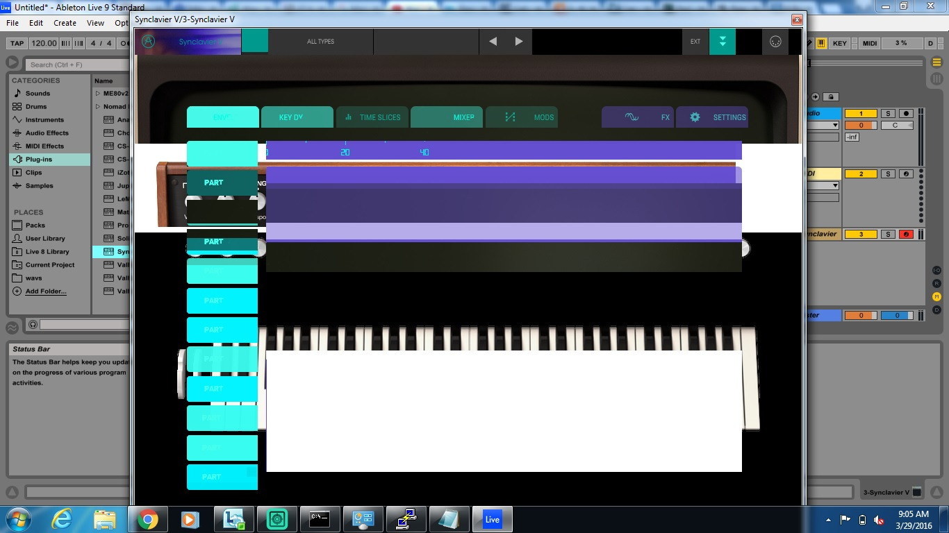 synclavier b609 screenshot