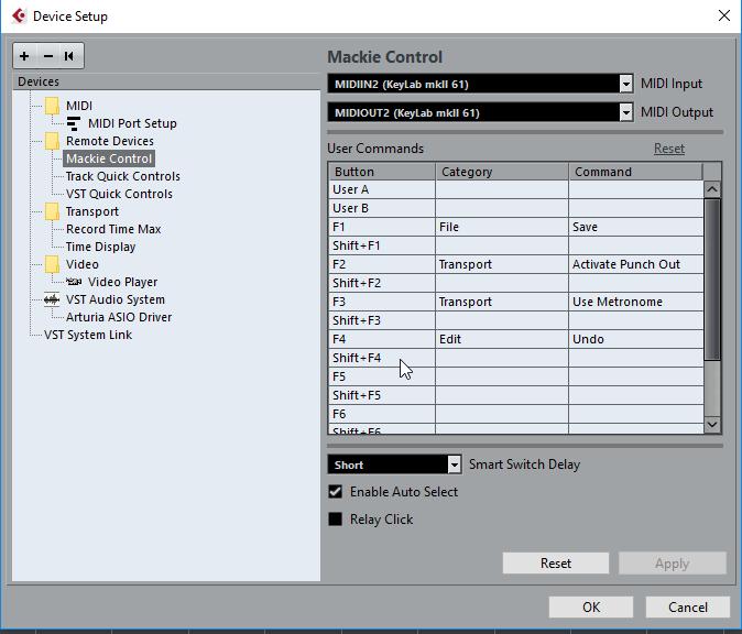 keylab mkii cubase control surface 2