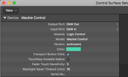 keylab mkii logic control surface