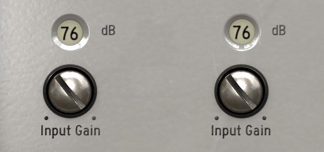 v76 pre input gain max small