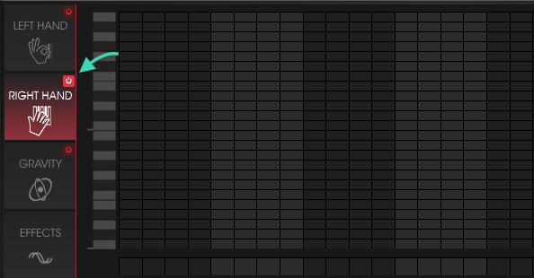 no sound sequencer right hand on without notes enabled