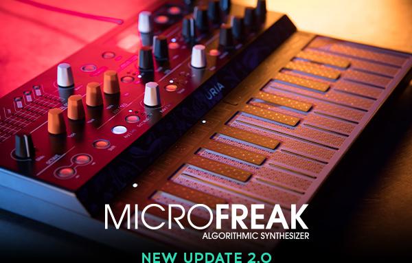 MicroFreak firmware update 2.0