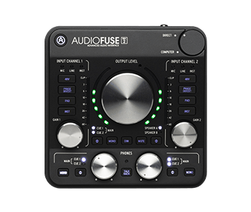 La nouvelle interface Audiofuse d'Arturia