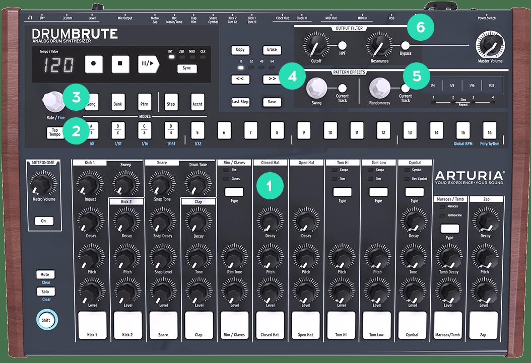 how to create a drum machine track in reaper