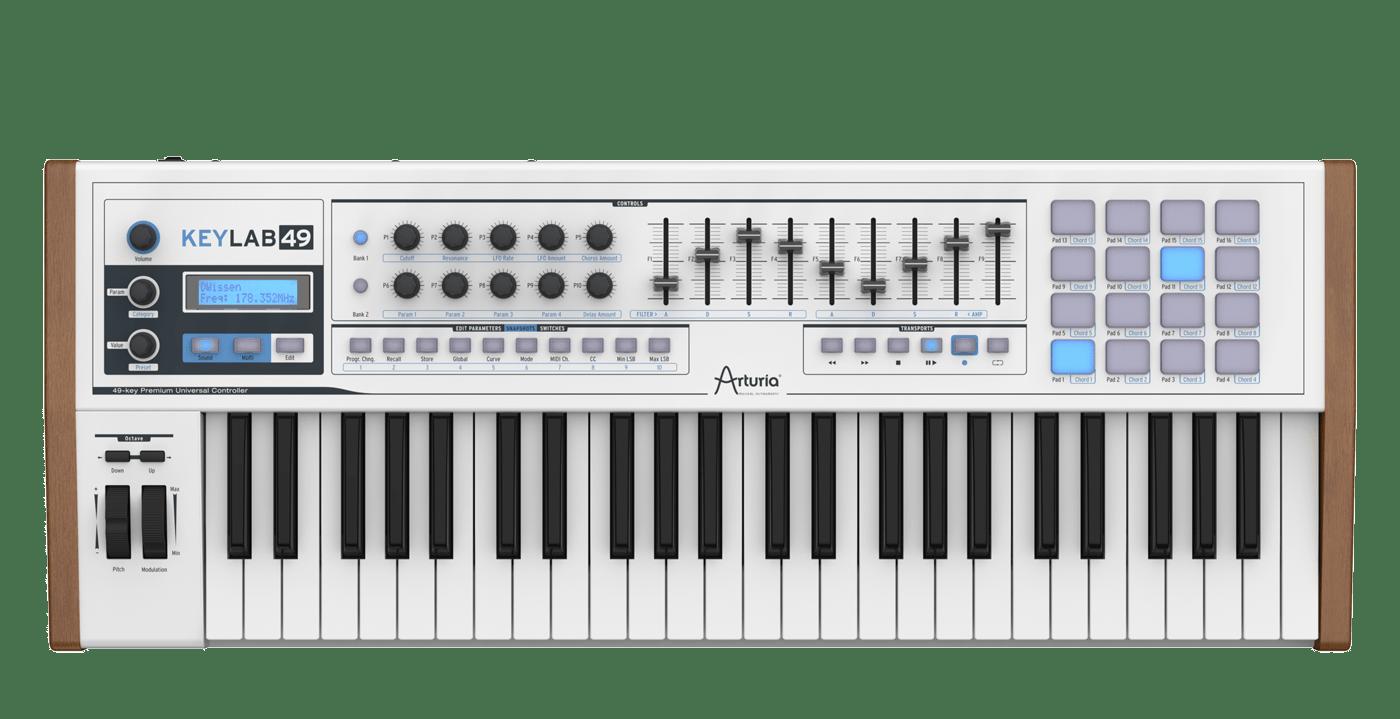 Arturia - Keylab quickstart