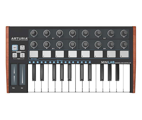 Arturia MiniLab Black Edition