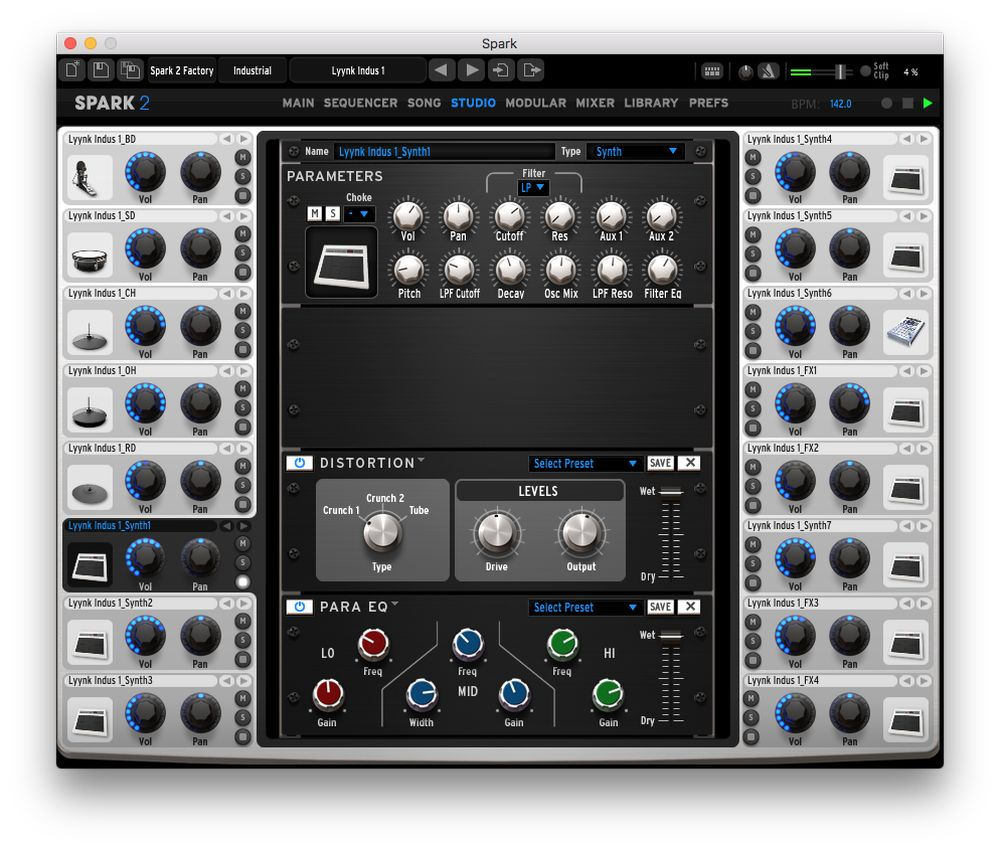 Arturia Overview Audio Sound Effects Circuit Generator The Old West Sounds Studio Page Gives You Deep Access To And Shaping Features Within Spark 2 Apply A Compressor Reverb Bit Crusher Multiband Eq